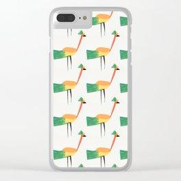 Fancy Birds Clear iPhone Case