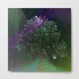 Tree in the night Metal Print