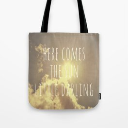 Little Darling  Tote Bag