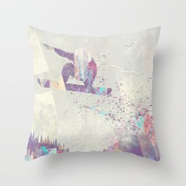 Explorers IV Throw Pillow