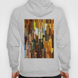 plaid abstract colorful Hoody