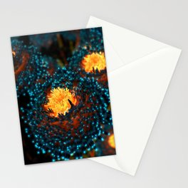 Electric Dahlia Stationery Cards