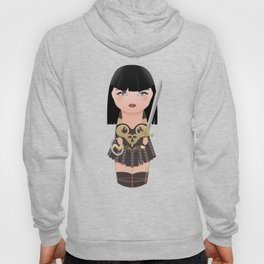 Kokeshi Xena, warrior princess Hoody