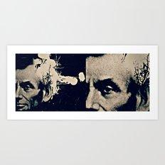 ABE LINCOLN'S HANDSOME HEADSHOT Art Print