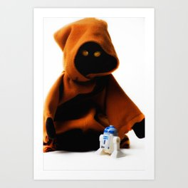 A Jawa's Favorite Toy Art Print