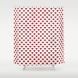 Love Pattern Shower Curtain