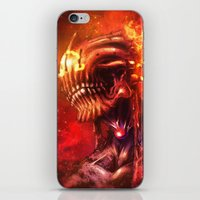 mars iPhone & iPod Skins featuring Mars by Vincent Vernacatola