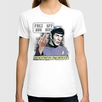 spock T-shirts featuring Spock.... by PsychoBudgie