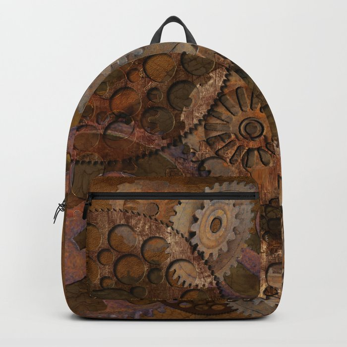Changing Gear - Steampunk Gears & Cogs Backpack