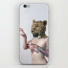 Therianthrope - Leopard iPhone & iPod Skin