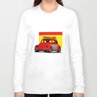 volkswagen Long Sleeve T-shirts featuring VolkSWAGen by Colby Gray