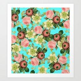 Hawaiian Flora #society6 #decor #buyart Art Print