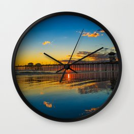 The Sky on the Sand Wall Clock