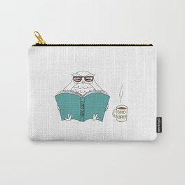 book owl Carry-All Pouch