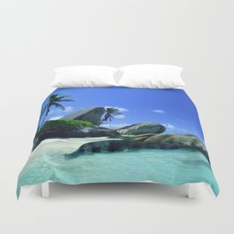 Seychelles Islands: Tropical Heaven Duvet Cover