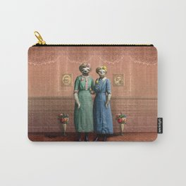 The Sloth Sisters at Home Carry-All Pouch