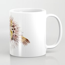 Little cute Fish, Puffer fish, cut fish art, coral aquarium fish Coffee Mug