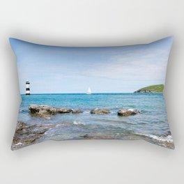 Puffin Island Rectangular Pillow
