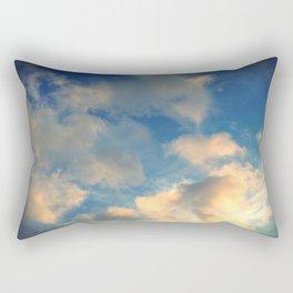 golden cloud. Rectangular Pillow