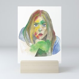 Color obsession Mini Art Print