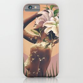Floral beauty 3 iPhone Case