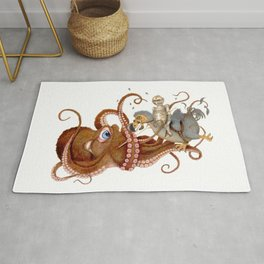 Dodo Rising (Death Of The Annoying Octopus) Rug