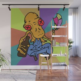 Bobo the Dunken Philosopher Wall Mural