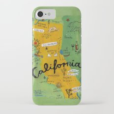Postcard from California Slim Case iPhone 7