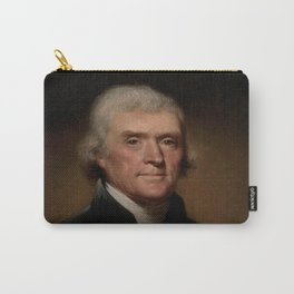 portrait of Thomas Jefferson by Rembrandt Peale Carry-All Pouch