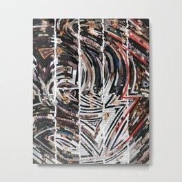 Travel Maze Metal Print