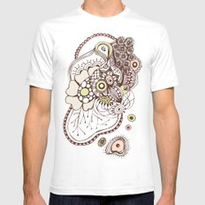 Tangled roots Mens Fitted Tee White SMALL