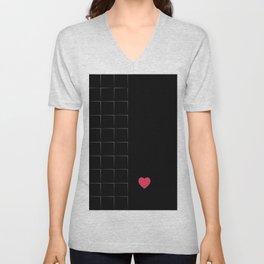 23 E=BlackLove Unisex V-Neck