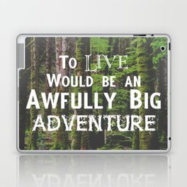 Peter Pan and Forrest Lands Laptop & iPad Skin