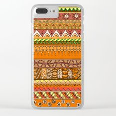 Yzor pattern 012 rich summer Clear iPhone Case