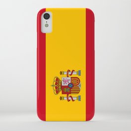 Flag of spain-spain,flag,flag of spain,espana,spanish,espanol,Castellano,Madrid,Barcelona, iPhone Case