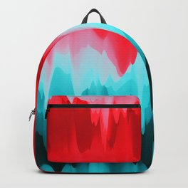 Abstract Art. Red Poppies Backpack