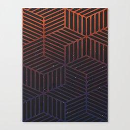 Galaxy pattern Canvas Print