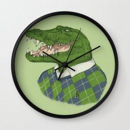 Argyle Crocodile Wall Clock