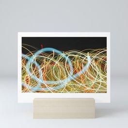 Shaking the Speed of Light Mini Art Print