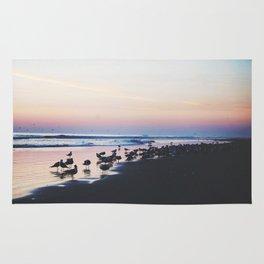 Sunrise on Daytona Beach Rug