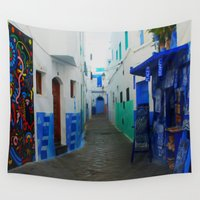 morocco Wall Tapestries featuring Morocco Moments - Traditional Art  by ShineShop
