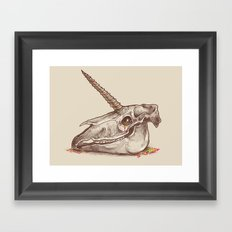 Magic remains Framed Art Print