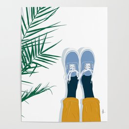 Palm and Vans Poster