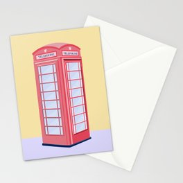 Classic London Phone Box Stationery Cards
