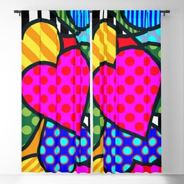 Lucky Heart Blackout Curtain