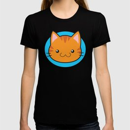Love Cats: Orange Tabby T-shirt