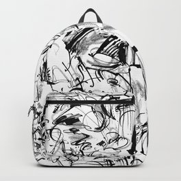 Division - b&w Backpack