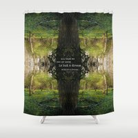 A Dream Within A Dream Shower Curtain