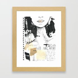 2014 Sketch Book Series #001 Framed Art Print