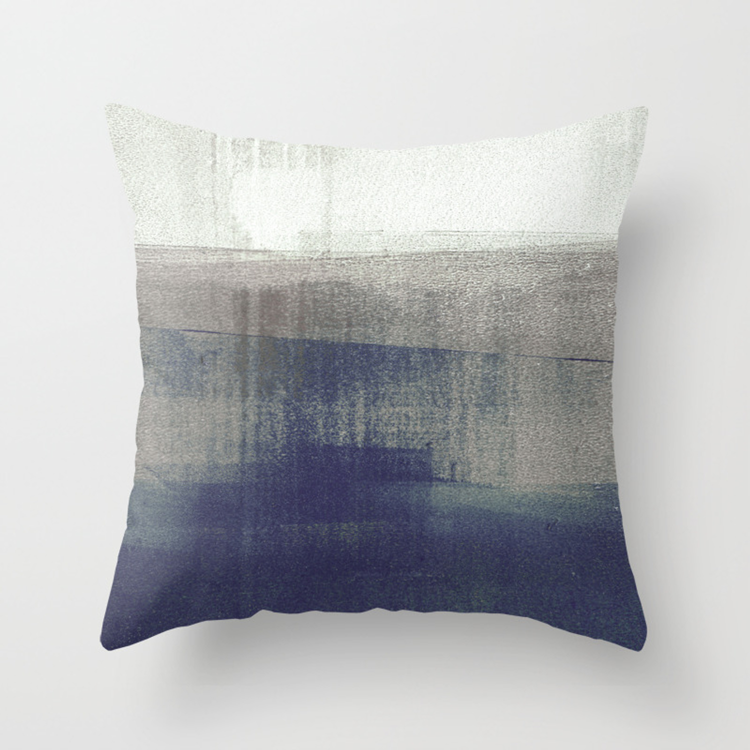 Navy Blue And Grey Minimalist Abstract